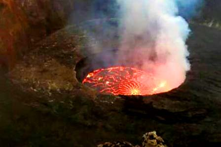 3 Days Nyiragongo Volcano hike - African Adventure Travellers
