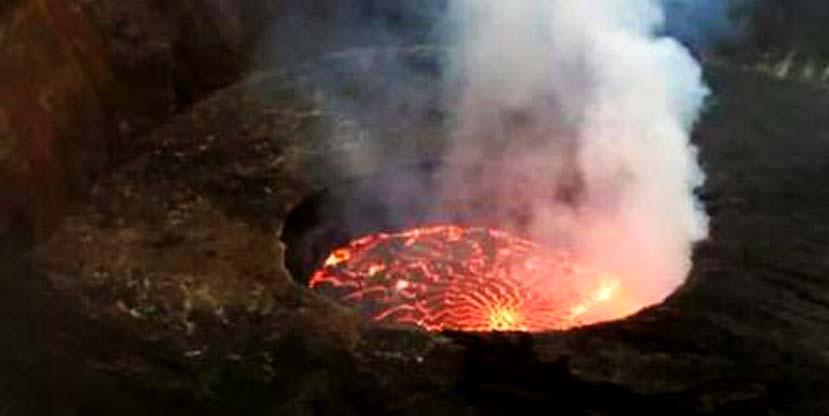 3 days nyiragongo volcano hike