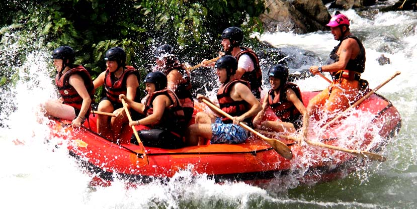 3 days Jinja tour - White water rafting, Bungee Jumping, Boat ride to the source of the Nile