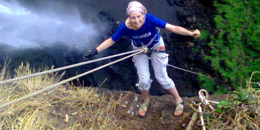 1 day sipi falls tour, rock climbing, abseiling, 3 water falls