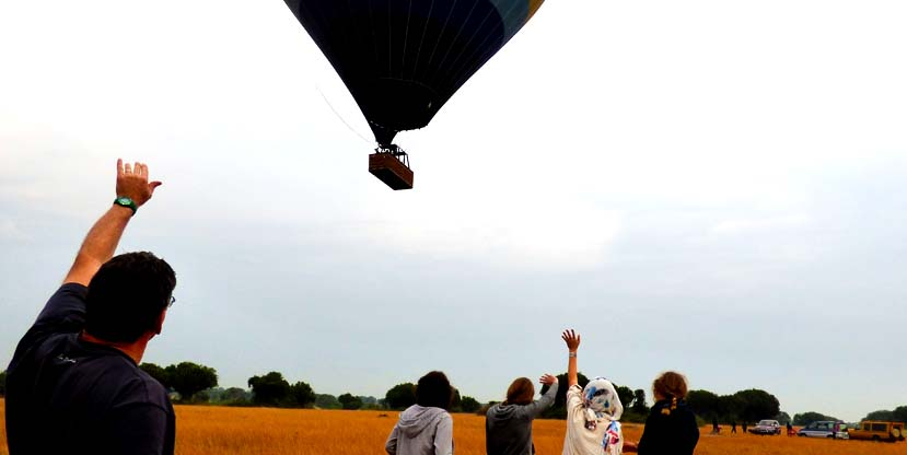 Hot air balloon Safari in Uganda